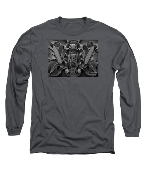 Tapestry Of Gods - Chicomecoatl Long Sleeve T-Shirt