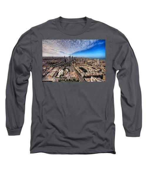 Tel Aviv Skyline Long Sleeve T-Shirt