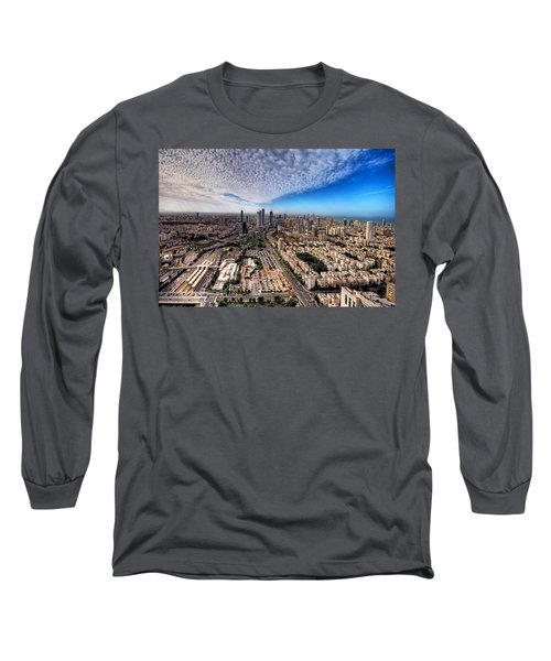 Tel Aviv Skyline Long Sleeve T-Shirt
