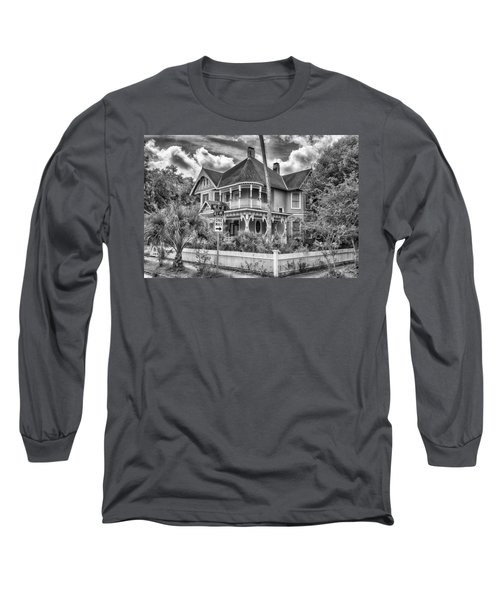The Gingerbread House Long Sleeve T-Shirt by Howard Salmon
