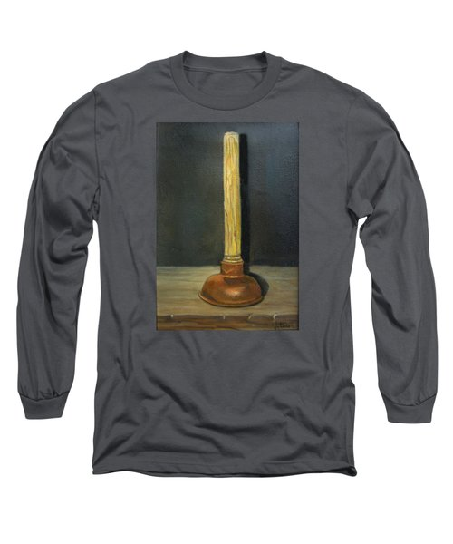 The Lone Plunger Long Sleeve T-Shirt