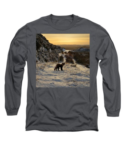 The Pine Marten's Path Long Sleeve T-Shirt