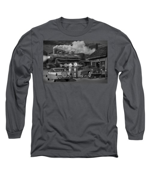 The Pumps Long Sleeve T-Shirt by Mike McGlothlen