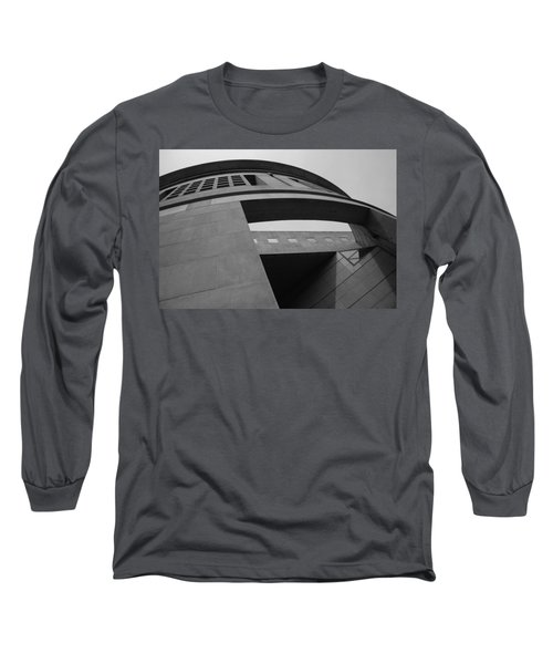 Long Sleeve T-Shirt featuring the photograph The United States Holocaust Memorial Museum by Cora Wandel