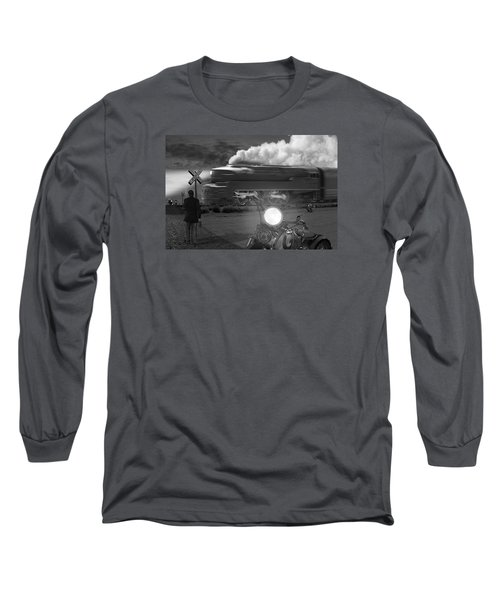 The Wait Long Sleeve T-Shirt by Mike McGlothlen