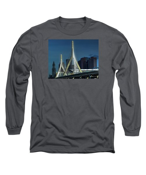The Zakim 012 Long Sleeve T-Shirt