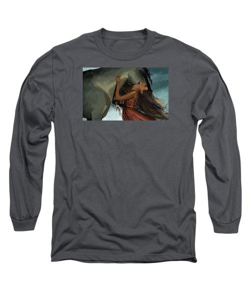 Unity Long Sleeve T-Shirt by Kate Black