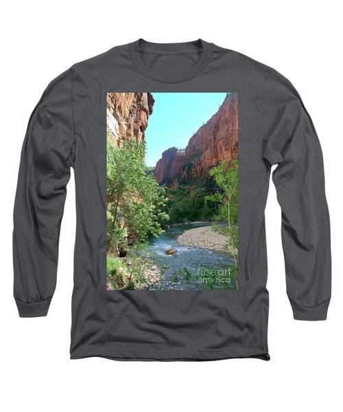 Virgin River Rapids Long Sleeve T-Shirt