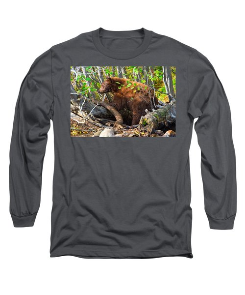 Where The Wild Things Are Long Sleeve T-Shirt by Scott Warner