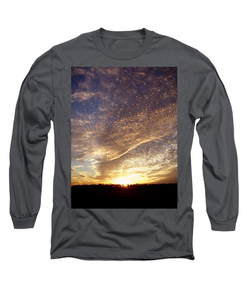 Wild Sky 2 Long Sleeve T-Shirt by Cynthia Lassiter