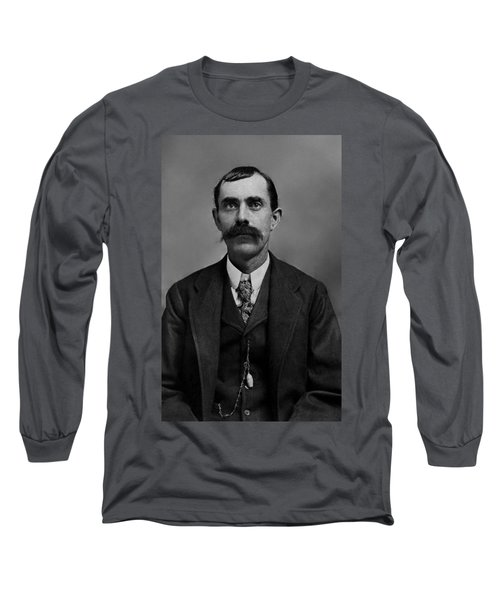 Long Sleeve T-Shirt featuring the photograph William Calvin Palmer by Karon Melillo DeVega