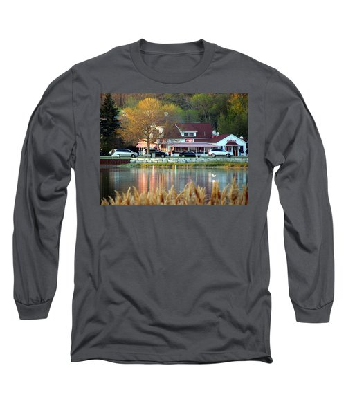 Wilson's Ice Cream Parlor Long Sleeve T-Shirt by David T Wilkinson