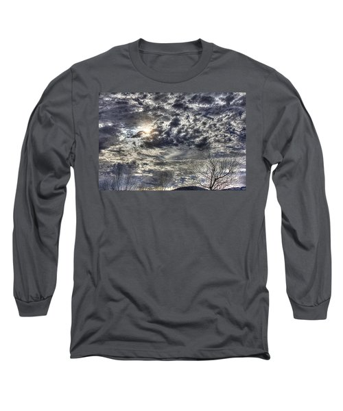 Winter Sky Long Sleeve T-Shirt by Tom Culver