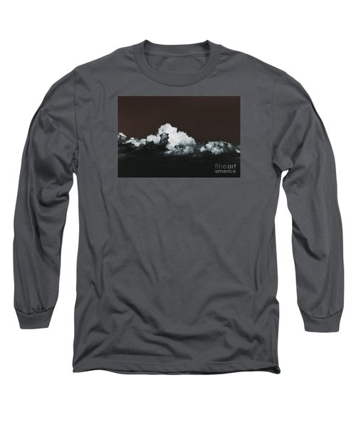 Long Sleeve T-Shirt featuring the photograph Words Mean More At Night by Dana DiPasquale