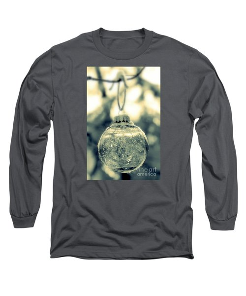 Long Sleeve T-Shirt featuring the photograph Xmas Ball by France Laliberte
