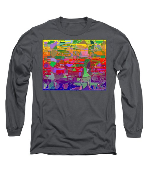 1021 Abstract Thought Long Sleeve T-Shirt