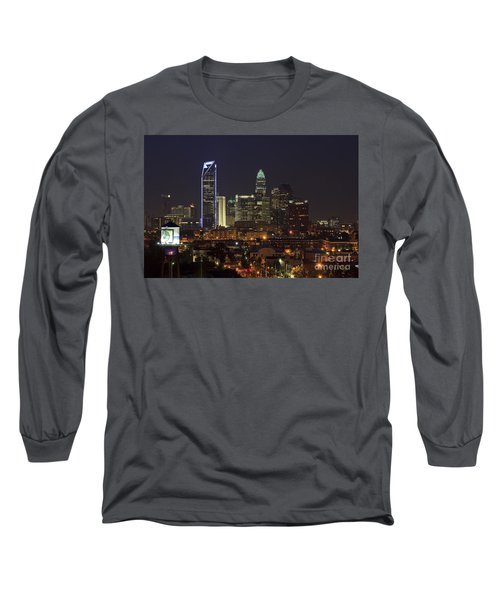 Charlotte Skyline Long Sleeve T-Shirt