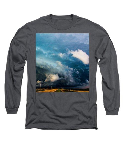 Industrial Light And Nebraska Thunderstorm Magic Long Sleeve T-Shirt