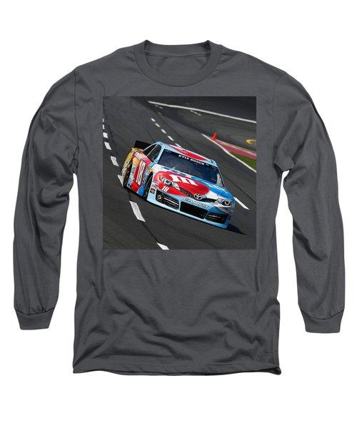 #18 Kyle Busch Long Sleeve T-Shirt
