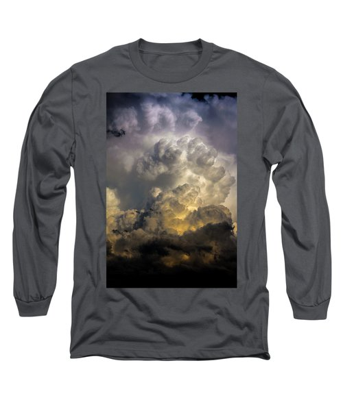 Late Afternoon Nebraska Thunderstorms Long Sleeve T-Shirt