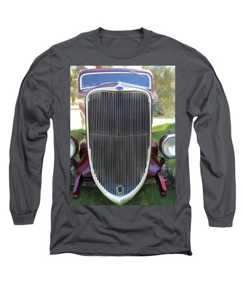 1933 Ford Grille Long Sleeve T-Shirt
