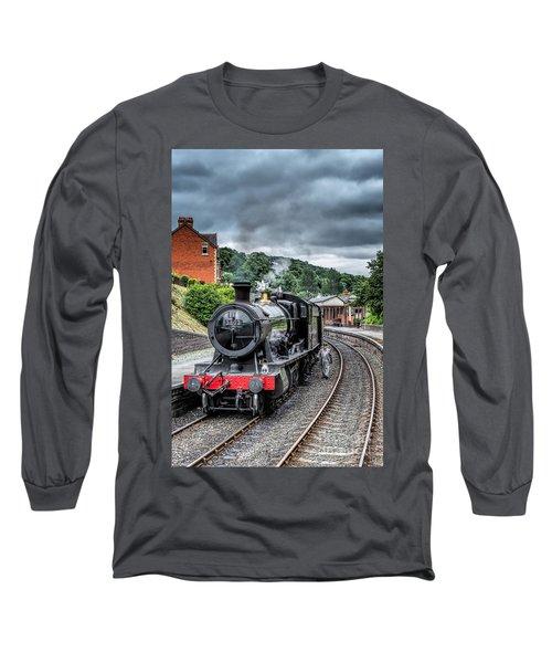 1938 Steam Loco Long Sleeve T-Shirt