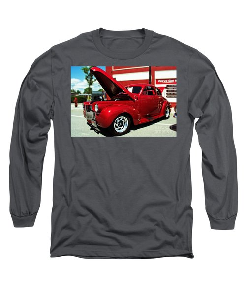 1940 Chevy Long Sleeve T-Shirt by Kevin Fortier
