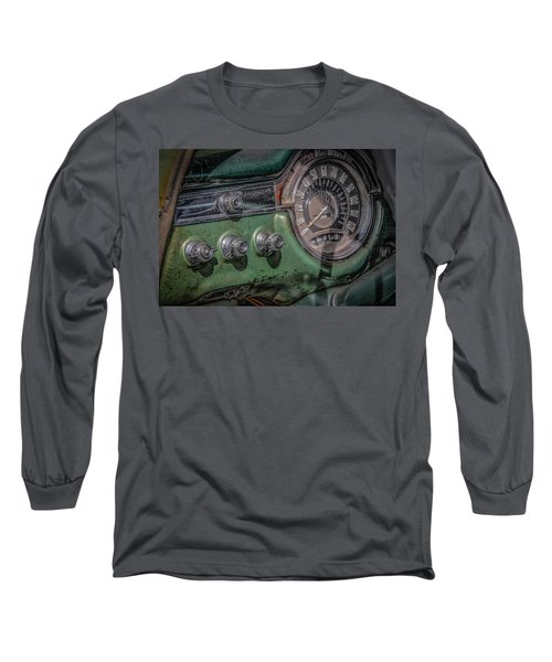 1953 Oldsmobile Long Sleeve T-Shirt by Ray Congrove