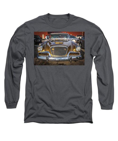1957 Studebaker Golden Hawk  Long Sleeve T-Shirt