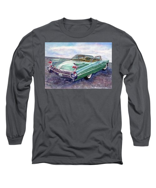 1959 Cadillac Cruising Long Sleeve T-Shirt