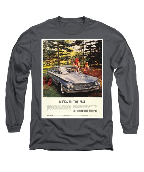 1960 - Buick Lesabre Sedan Advertisement - Color Long Sleeve T-Shirt