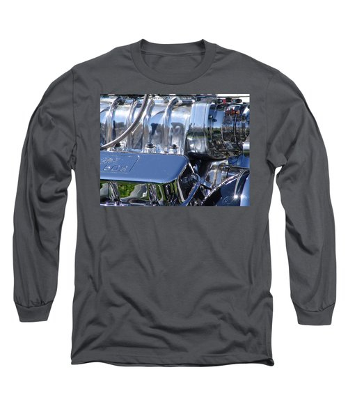 Long Sleeve T-Shirt featuring the photograph 502 Big Block by Chris Thomas