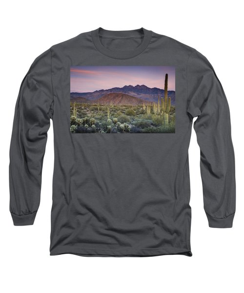 A Desert Sunset  Long Sleeve T-Shirt