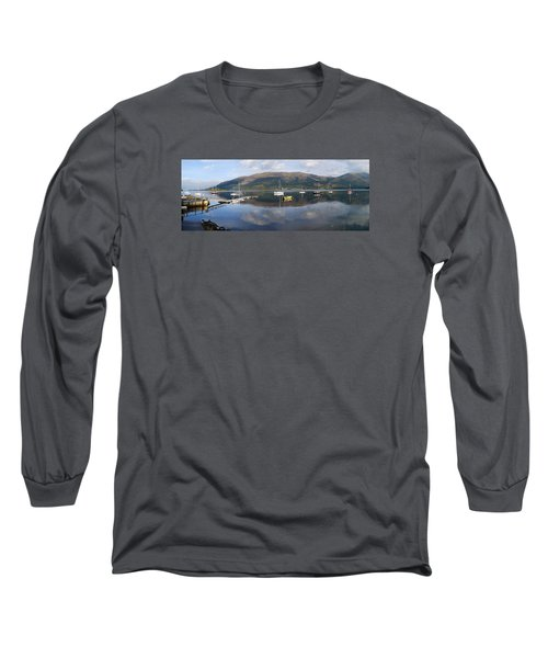 Long Sleeve T-Shirt featuring the photograph Along Loch Leven 3 by Wendy Wilton