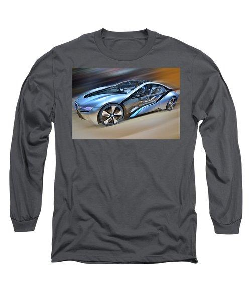 B M W  Edrive I8  Concept  2014 Long Sleeve T-Shirt