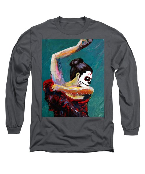 Bailan De Los Muertos Long Sleeve T-Shirt