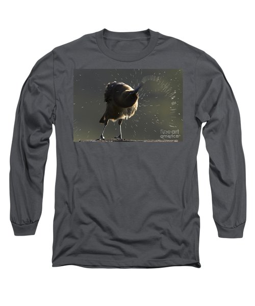 Boat Tailed Grackle Long Sleeve T-Shirt