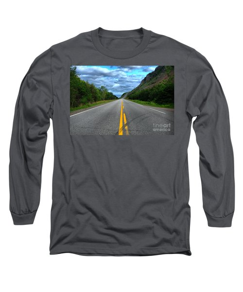 Long Sleeve T-Shirt featuring the photograph Cabot Trail by Joe  Ng