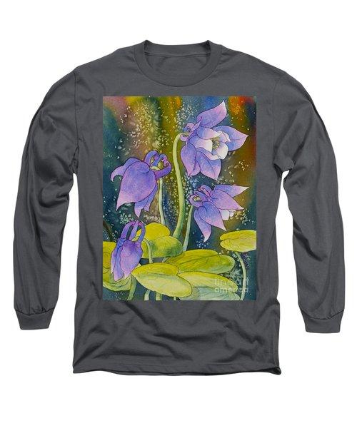Columbine Long Sleeve T-Shirt by Teresa Ascone