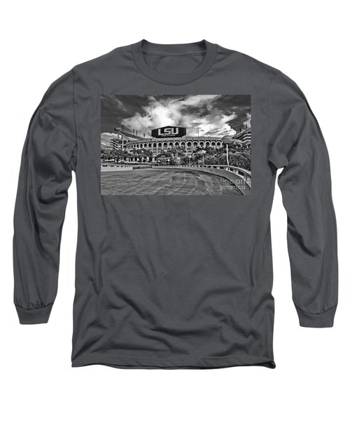 Death Valley - Hdr Bw Long Sleeve T-Shirt