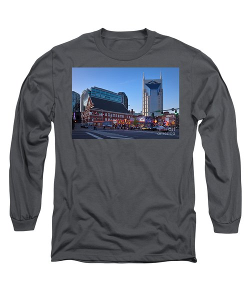 Downtown Nashville Long Sleeve T-Shirt