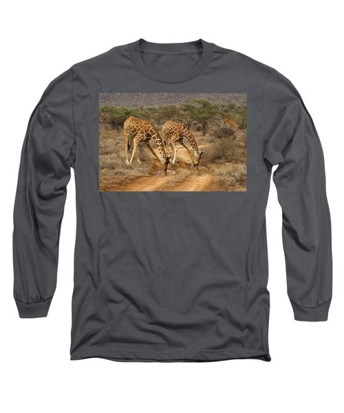 Drinking In Tandem Long Sleeve T-Shirt