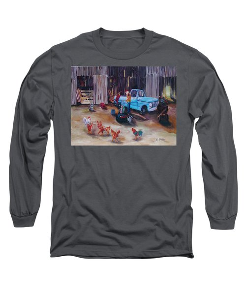 Flat Tire Long Sleeve T-Shirt
