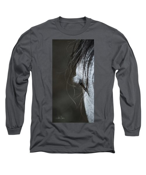 Long Sleeve T-Shirt featuring the photograph Gracie by Joan Davis