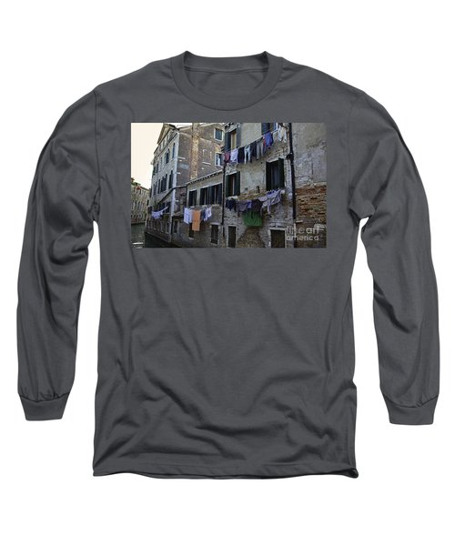 Hanging Out To Dry In Venice Long Sleeve T-Shirt