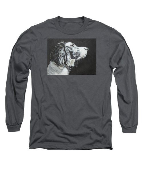Intent Long Sleeve T-Shirt by Jeanne Fischer