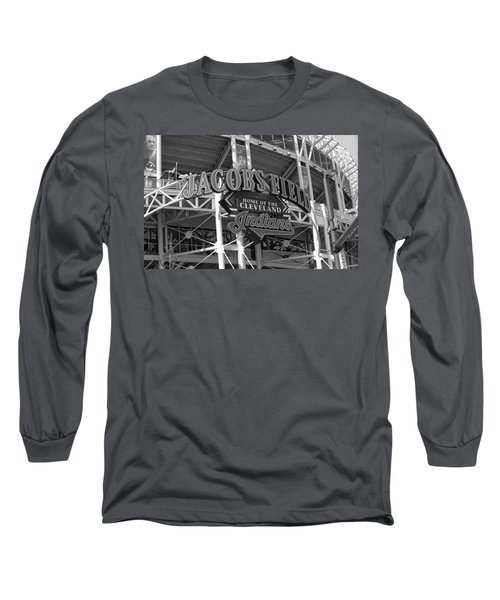 Jacobs Field - Cleveland Indians Long Sleeve T-Shirt