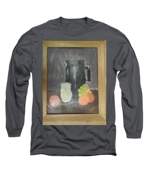 #2 Long Sleeve T-Shirt by Mary Ellen Anderson
