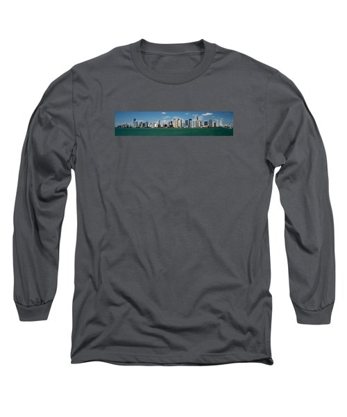 Miami Long Sleeve T-Shirt by Lawrence Boothby