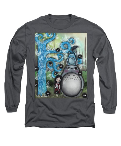 My Friend Long Sleeve T-Shirt by Abril Andrade Griffith